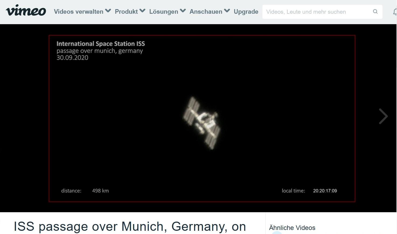 ISS-Teleskop-Video