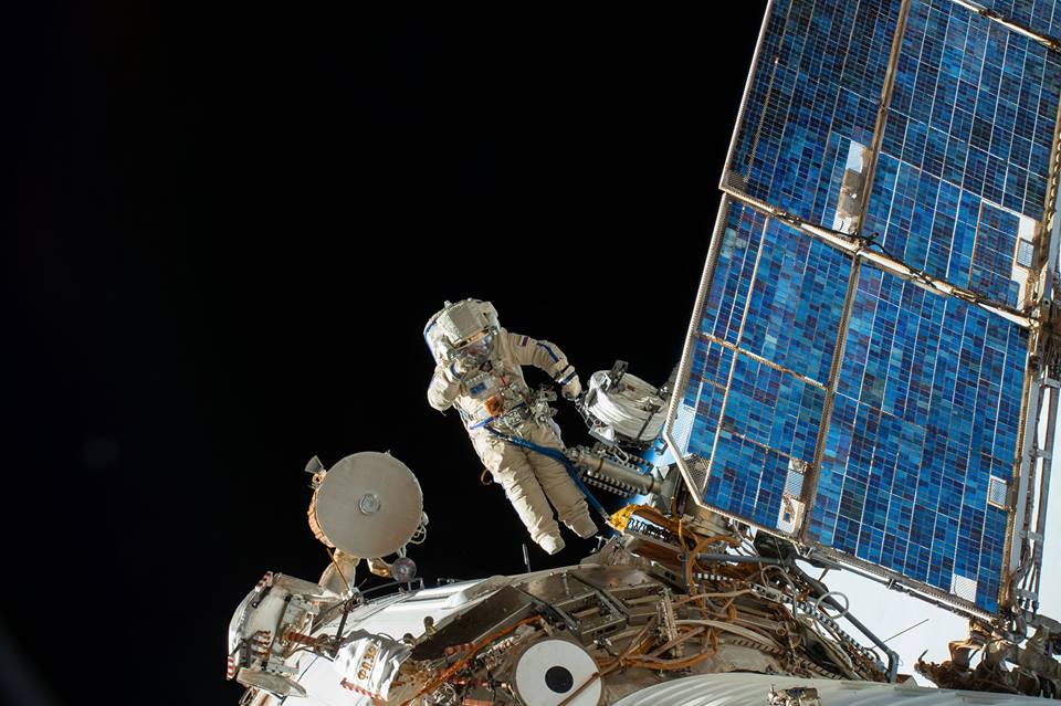 ISS-Ausseneinsatz